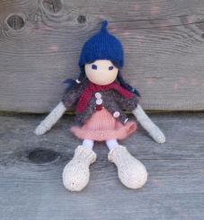 "Spendenprojekt: CHiEMi Handgestrickte Puppe ""Johanna"""
