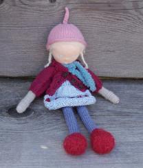 """Spendenprojekt: CHiEMi Handgestrickte Puppe """"Anna-Lena"""""""