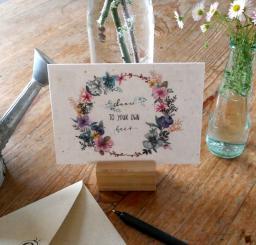 Primoza einpflanzbare Grußkarte Dance