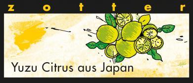Zotter BIO Schokolade Yuzu Citrus aus Japan