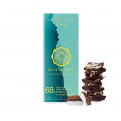 CHOCQLATE Bio-Schokolade Kokos mit Virgin Kakao
