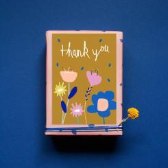 noull Postkarte Thank You