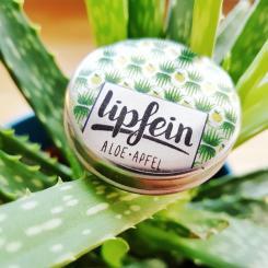 lipfein Lippenbalsam Duo Aloe-Apfel