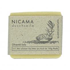 NICAMA Olivenöl-Salz Seife