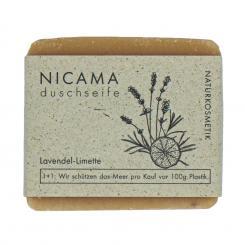NICAMA Lavendel-Limette Seife