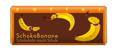 Zotter BIO SchokoBanane Schokolade macht Schule
