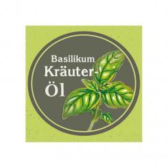 Ölmühle Garting - kaltgepresstes Kräuteröl Basilikum