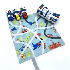 Tiny Magic Minispielteppich Fahrzeuge