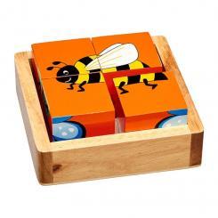 Lanka Kade Holz-Klotz-Puzzle