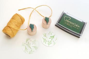 Studio Karamelo - Mini Stempel Set Pflänzchen