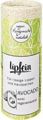 lipfein plastikfreier Lippenpflegestift Avocado