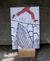 Primoza einpflanzbare Grußkarte Auf das Leben