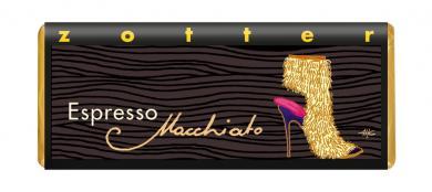 Zotter BIO Schokolade Espresso Macchiato