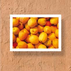 SOULPIECE Postkarte Aprikosen