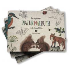 Brigitte Baldrian nachhaltiges Naturmalbuch