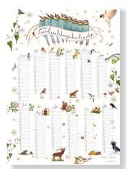 Brigitte Baldrian nachhaltiges Poster Geburtstagskalender