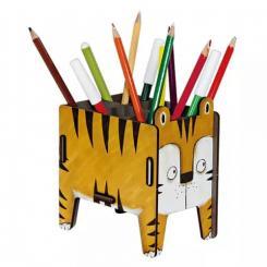 Werkhaus Holz Stiftebox Tiger