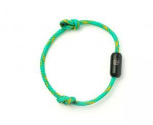 """Bracenet - Armband """"Andaman Sea - schwarz"""" S - 19cm"""