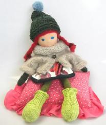 "Spendenprojekt: CHiEMi - Handgefertigte Puppe ""Fina"""