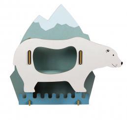 WERKHAUS - Garderobe Eisbär