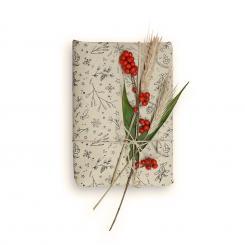 Nachhaltiges Geschenkpapier aus Graspapier Winterliches
