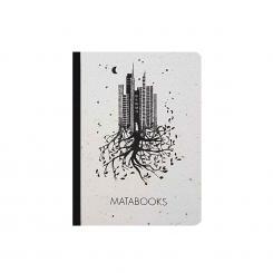 "Matabooks - Notizbuch mit Cover aus Samenpapier ""Luna"""
