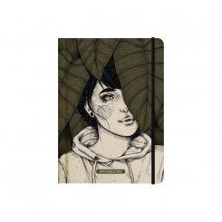 "Matabooks - Notizbücher – Nari ""Leaves"" (punktiert)"