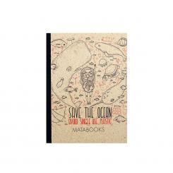 "Matabooks - Notizbuch ""Save the ocean"""