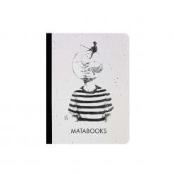 "Matabooks - Notizbuch mit Cover aus Samenpapier ""Fishing for ideas"""