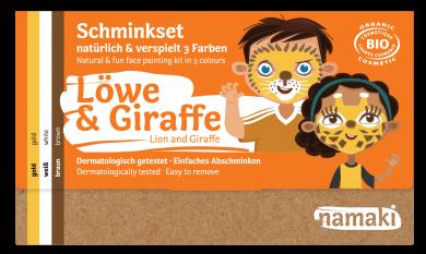 """namaki - Kinderschminkset   """"Löwe & Giraffe"""""""