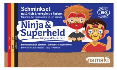 "namaki - Kinderschminkset ""Ninja & Superheld"""