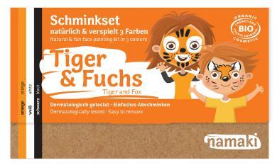 "namaki - Kinderschminkset ""Tiger & Fuchs"""