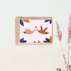 "noull - Postkarte ""Love"""