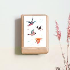noull - Postkarte Wildvögel