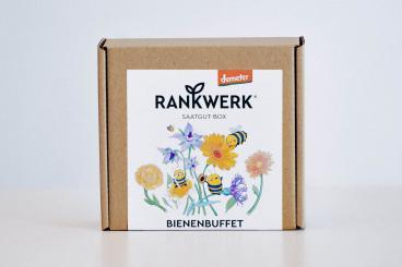 Geschenkbox  BIO Saatgut Bienenbuffet
