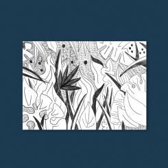 magdalena skala Kunstkarte Dschungel