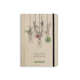 Matabooks Graspapier Kalender 2022 Blooming