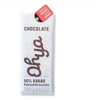 Ohya vegane Bio-Schokolade PUR 60% Kakao
