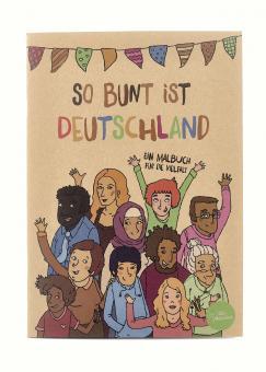 GoVolunteer Malbuch für die Vielfalt So bunt ist Deutschland