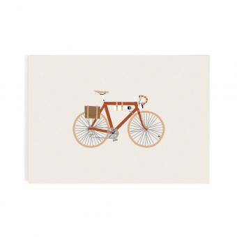 Roadtyping Postkarte Fahrrad Singlespeed