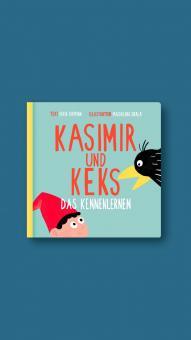 """Kinderpappbuch Kasimir und Keks """"Das Kennenlernen"""""""
