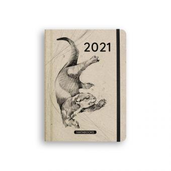 Matabooks - Graspapier-Jahresplaner 2021 Endangered