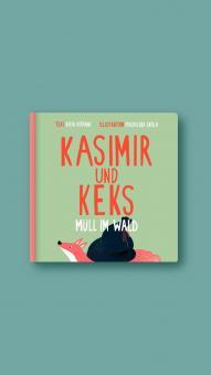 "Kinderpappbuch Kasimir und Keks ""Müll im Wald"""