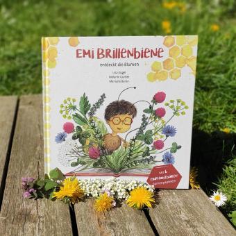"""Der Wachsende Kalender - """"Emi Brillenbiene"""""""