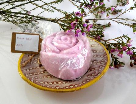 Holledauer Seifenrausch - Rosen-Salzseife