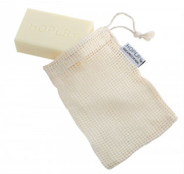 HOPERY - Seifensäckchen aus Baumwolle