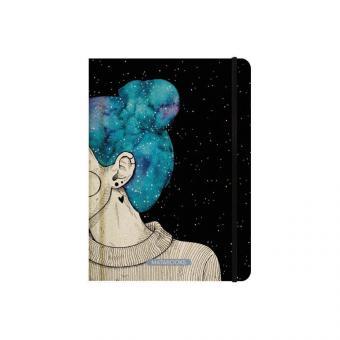 """Matabooks - Notizbücher – Nari """"Blue Starry Sky"""" (punktiert)"""