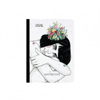 "Matabooks - Notizbuch mit Cover aus Samenpapier ""Growing"""