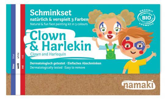 "namaki - Kinderschminkset ""Clown & Harlekin"""