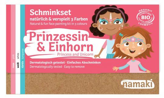"namaki - Kinderschminkset  ""Prinzessin & Einhorn"""